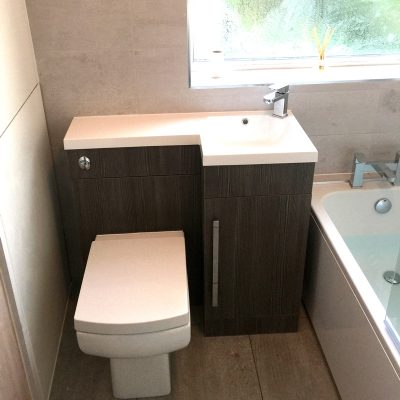 En suite Bathroom installation in Sheffield