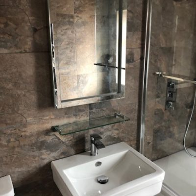 Gary & Sue's Bathroom Design &  Installation in Doncaster
